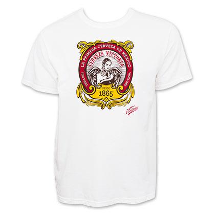 Victoria Men's White La Primera Cerveza T-Shirt