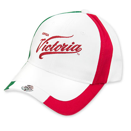 Victoria Red Logo Mexican Flag Hat