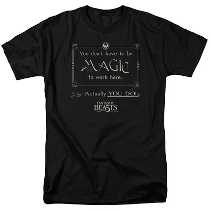 Fantastic Beasts Dont Have To Be Magic Tshirt