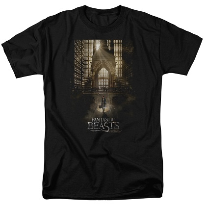 Fantastic Beasts And Where To Find Them Movie Poster Tshirt