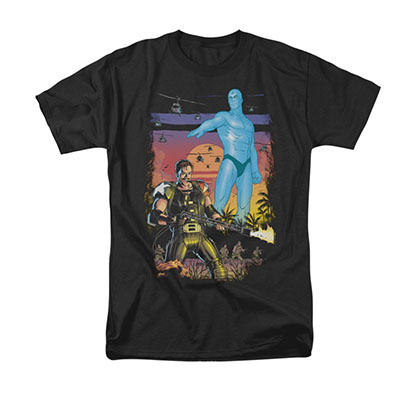 Watchmen Winning The War Black T-Shirt