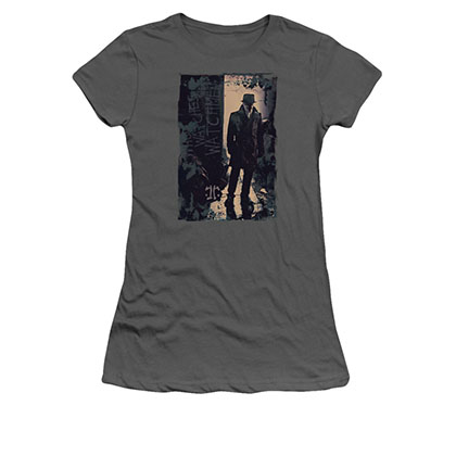 Watchmen Rorschach Light Gray Juniors T-Shirt