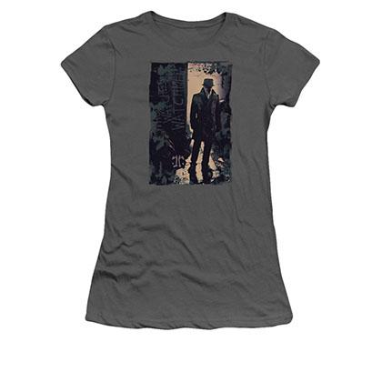 Watchmen Rorschach Light Gray Juniors T-Shirt
