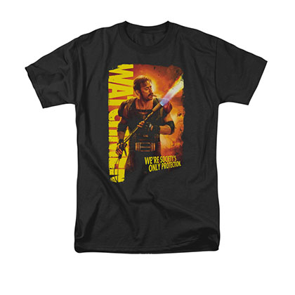 Watchmen Smoke Em Black T-Shirt
