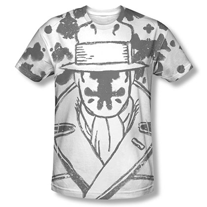 Watchmen Rorschach Sublimation T-Shirt