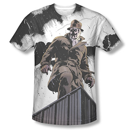 Watchmen Rorschach Stormy Sublimation T-Shirt