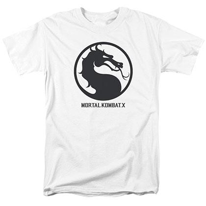 Mortal Kombat X Seal White T-Shirt