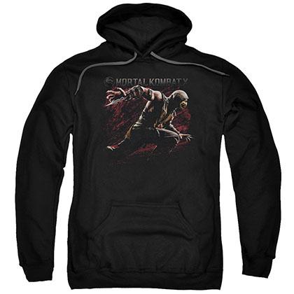 Mortal Kombat X Scorpion Lunge Black Pullover Hoodie