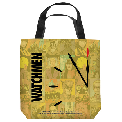 Watchmen Doomsday Tote Bag