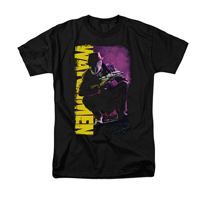 Watchmen Perched Black T-Shirt