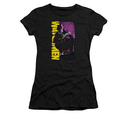 Watchmen Perched Black Juniors T-Shirt