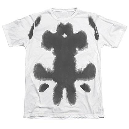 Watchmen Rorschach Ink Blots Sublimation T-Shirt