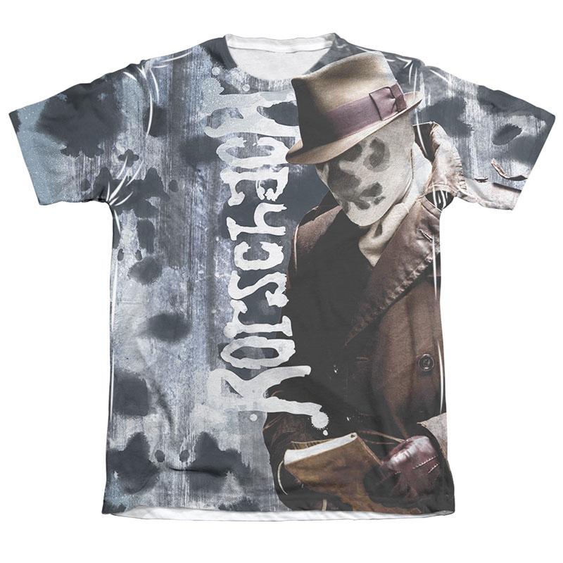 fa4e5a05c69 Watchmen Rorschach Journal Sublimation T-Shirt