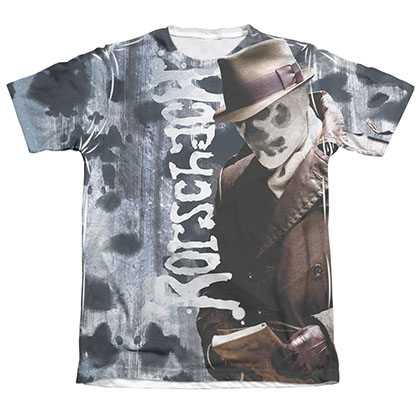 Watchmen Rorschach Journal Sublimation T-Shirt