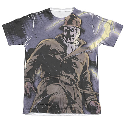 Watchmen Rorschach Storm Sublimation T-Shirt