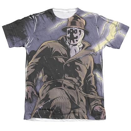 Watchmen Rorschach Storm Sublimation T-Shirt