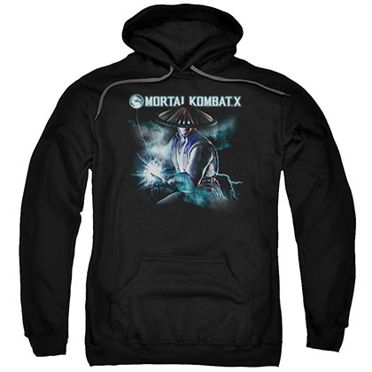 Mortal Kombat X Raiden Black Pullover Hoodie