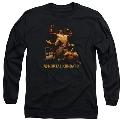 Mortal Kombat X Goro Black Long Sleeve T-Shirt
