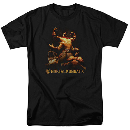 Mortal Kombat X Goro Black T-Shirt