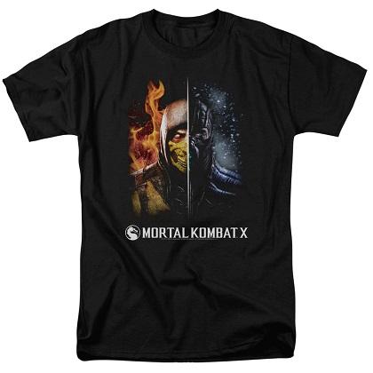Mortal Kombat Fire and Ice Tshirt