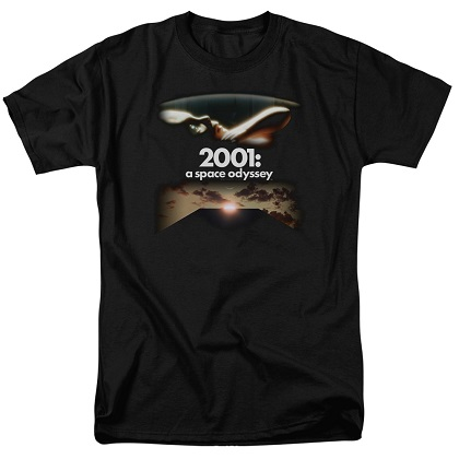 2001 A Spacey Odyssey Poster Tshirt