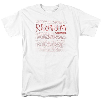 The Shining Redrum Tshirt