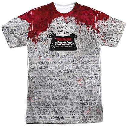 The Shining All Work and No Play Tshirt