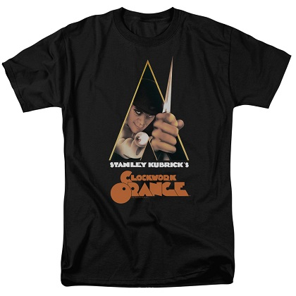 Clockwork Orange Movie Poster Tshirt