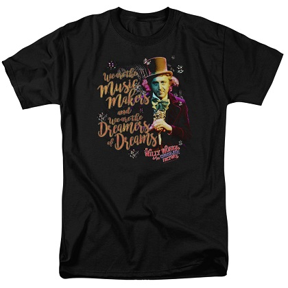 Charlie and the Chocolate Factory Music Makers Tshirt
