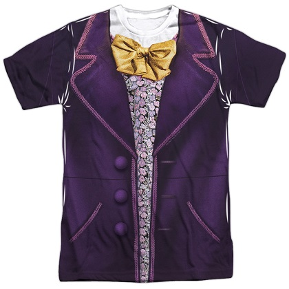 Charlie and the Chocolate Factory Willy Wonka Costume Tee