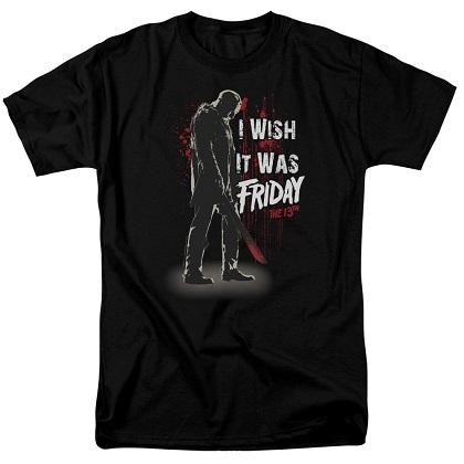Friday The 13th I Wish It Was Friday Tshirt