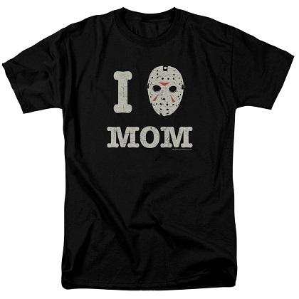 Friday The 13th Mamas Boy Tshirt