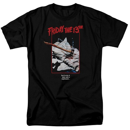 Friday The 13th Axe Poster Tshirt
