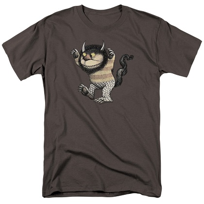 Where The Wild Things Are Carol Grey Tshirt