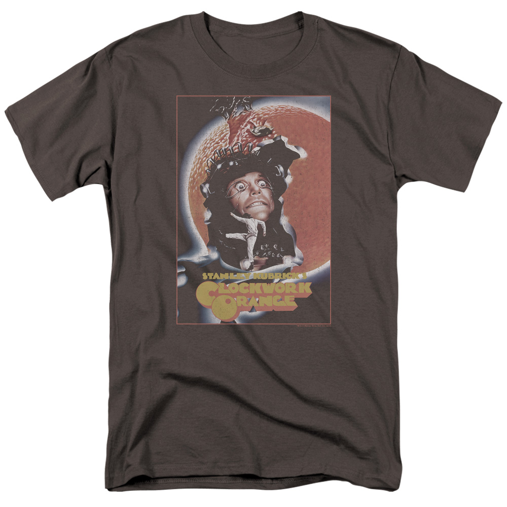 Clockwork Orange Movie Poster Grey Tshirt