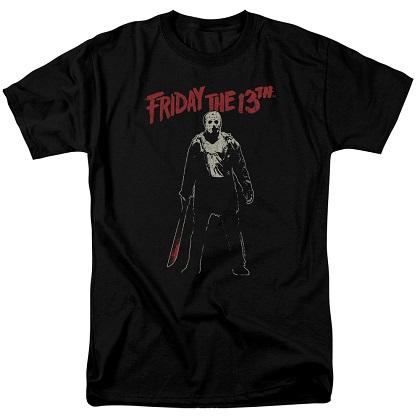 Friday The 13th Bloody Machete Tshirt