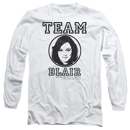 Gossip Girl Team Blair White Long Sleeve T-Shirt
