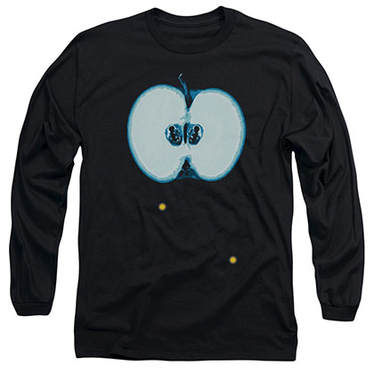 Fringe Apple Glyph Black Long Sleeve T-Shirt