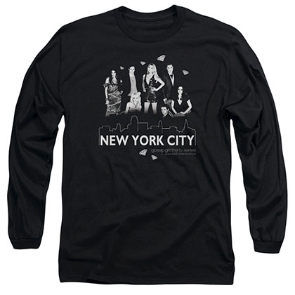 Gossip Girl NYC Black Long Sleeve T-Shirt