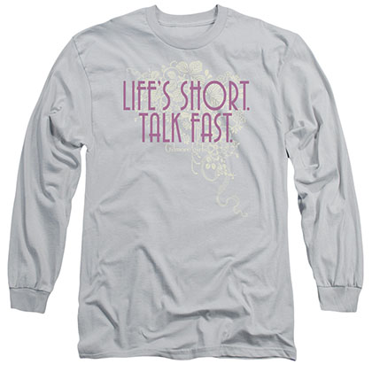 Gilmore Girls Lifes Short Gray Long Sleeve T-Shirt