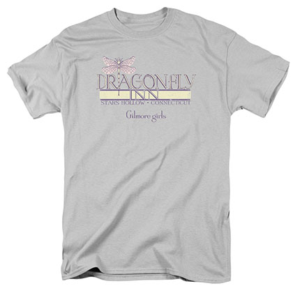 Gilmore Girls Dragonfly Inn 2 Gray T-Shirt