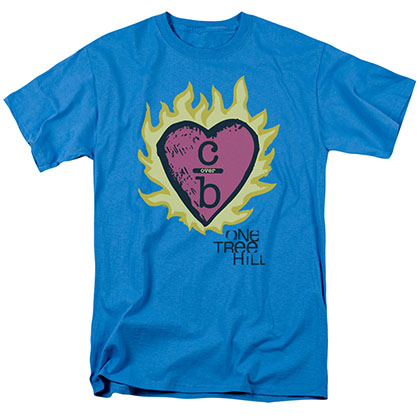 One Tree Hill C Over B 2 Blue T-Shirt