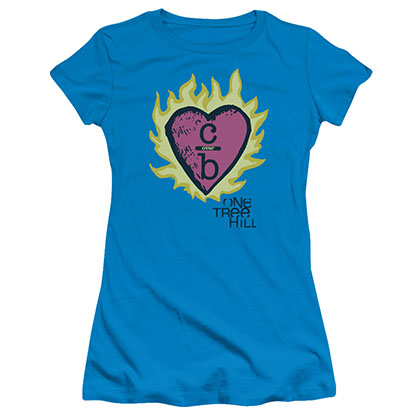 One Tree Hill C Over B 2 Blue Juniors T-Shirt