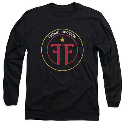 Fringe Division Black Long Sleeve T-Shirt