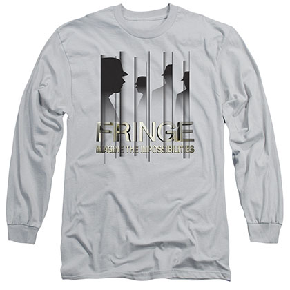 Fringe The Observers Gray Long Sleeve T-Shirt