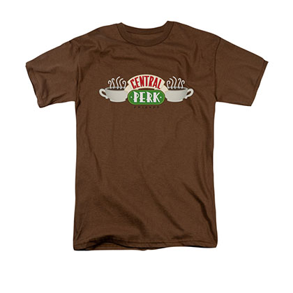 Friends Central Perk Brown Tee Shirt