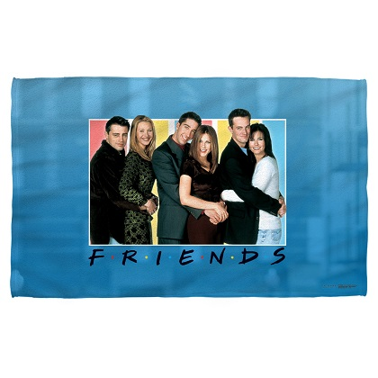 Friends Cast Beach Towel
