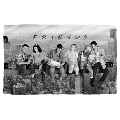 Friends New York City Beach Towel