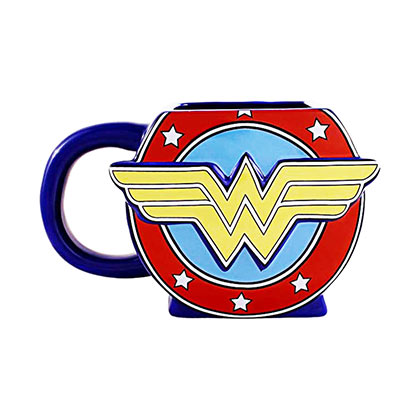 Wonder Woman Logo Shaped Mug