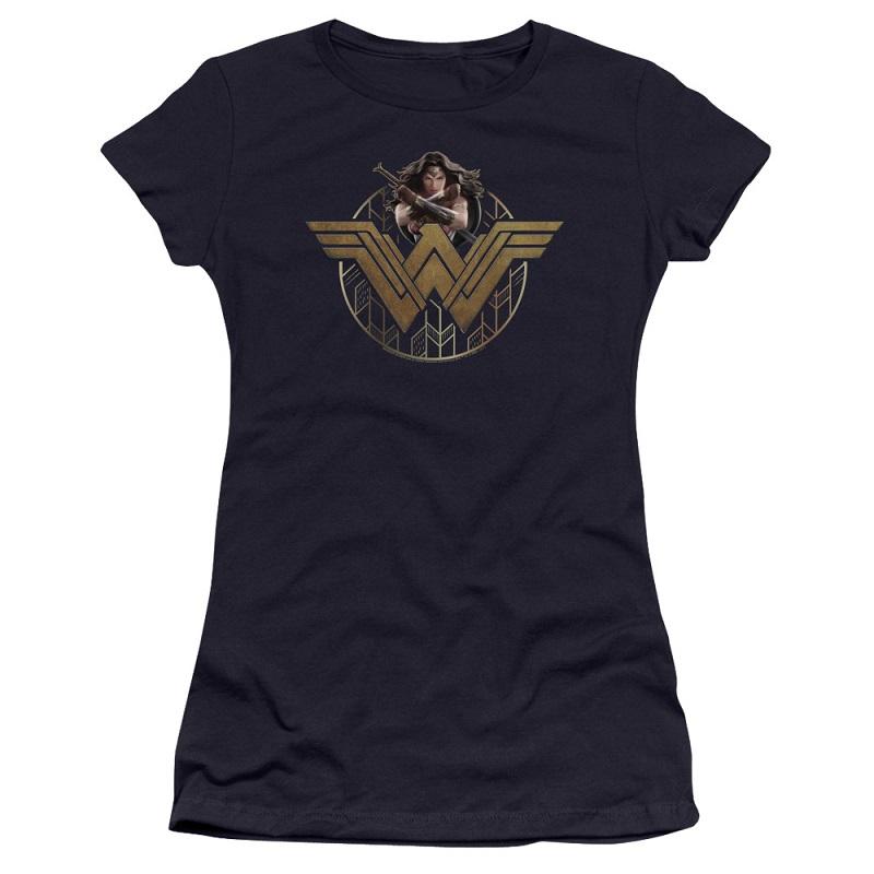 Wonder Woman Power Emblem Women's Tshirt